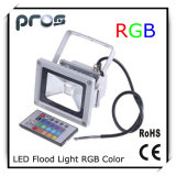 Waterproof Remote Control RGB 10W LED Flood Light