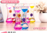 Acrylic Colorful Liquid Oil Hourglass Toy