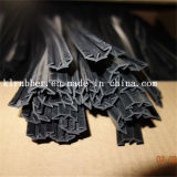 Car Door Rubber Weather Sealing Strip with Pes Flock