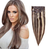 Fashion Mixed Color Clip on Hair Extension