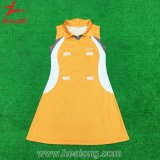 Healong Good Quality Sublimated Customized Girl Cheerleading A Line Dress