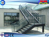 High Quality Steel Staircase/Platform/Stairs with Ce Authentication (FLM-SP-004)
