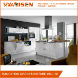 2016 Aisen Hot Sale Simple Design White Lacquer Kitchen Furniture