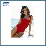 Fashion Red Women′s Swimsuit Beachwear