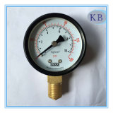 "Dial 2.5"" Dry Pressure Gauge Back steel Case with Front Flange"