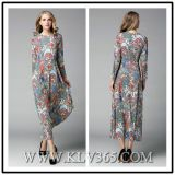 Spring Summer Fashion Floral Long Dress