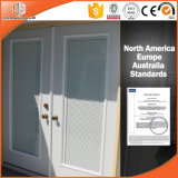 Most Popular Aluminum Clad Wood Casement Window Built-in Blinds Integral Shutter Tilt and Turn Window Afghan Client