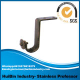 Wholesale High Quality and Low Price Wall Mount Curtain Brackets, Double Curtain Pole Brackets Wall Hanging Brackets
