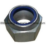 DIN 985 Hexagon Nuts with Plated Hexagon High Class Strength & Quality Nylon Insert Locked