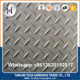 Good Price AISI304 316L 430 201 Checkered Stainless Steel Plate