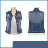 Ladies Fashion Denim Vests (JC4016)