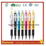 2 In1 Highlighter and Ball Pen for School Office Supply