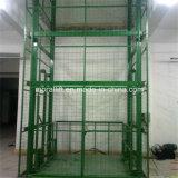 Hydraulic heavy loading vertical cargo platform