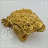 3D Gold Toad Housing Decoration, Custom Mascot (GZHY-HD-081)