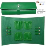 Girl′s Jewelry Pouch Leather Travel Jewelry Pouch (1420)