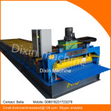 Color Painted Galvanized Corrugated Sheet Metal Roll Forming Machine