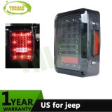 12V 24V USA Plug LED Reverse Turn Signal Running Brake Rear Light for Jeep