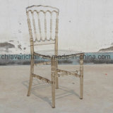 Crystal Transparent Amber Sillas Wedding Napoleon Chairs