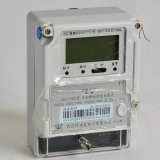 Large-Capacity Magnetic Latching Relay Controlled Electricity Meter