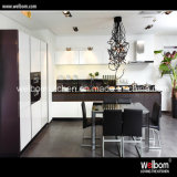 2016 Welbom Factory Direct Sale Black High Gloss Kitchen Cabinet