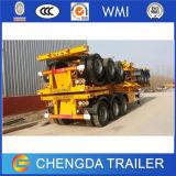 China Triple Axles Container 40feet Skeleton Semi Trailer Price