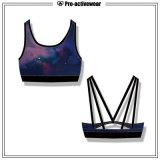 Wholesale Women Quickly Dry Yoga Wears Athletic Sports Bra Top