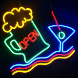 2017 New! Silicone LED Flex Neon Light Sign