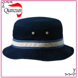 Navy Blue Cotton Bucket Hat