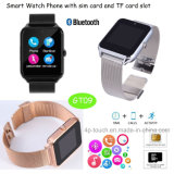 2017 New Stainless Steel Smart Watch with SIM Card Slot