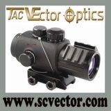 Vector Optics Calypos 3X30 Tactical Prism Cqb Scope Rubber Armored Mpt2 Reticle
