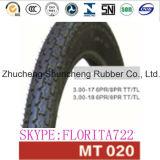 Inner Tube Wheels Tyres Rubber Wheel Tyre (3.00-18)