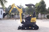 CT16-9bp (1.7T) Hydraulic Crawler Mini Excavator with Zero Tail and Retractable Chassis