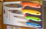 Stainless Steel Kitchen Knives Set No. Kns-4b