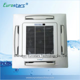 Chilled Water Ceiling Cassette Fan Coil Unit with 4 Way Air Outlet