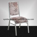 Stacking Hotel Gold Aluminum Tube Banquet Dining Chair (XYM-L193)