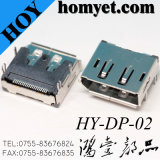Manufacturers Supply Right Angle 19pin SMT HDMI Female Connector for Household Appliances