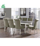 Coastlink Vegas 9 Piece Extension Oval Dining Table Set for 8 (Parson Chairs)