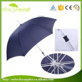 23 Inch 8 Panels Fiberglass and Aluminium Ribs Aluminium Alloy Shaft Logo Print Straight Umbrella