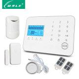 OEM/ODM Touch Panel Wireless GSM-PSTN Intruder Security Alarm