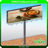 Galvanized Advertisement Highway Unipole Billboard