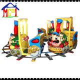 Kids Amusement Theme Park Mini Cartoon Train for Family Fun