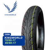 China 80/100-17 80/90-17 100/80-17 110/90-17 Motorcycle Tire Tubeless Tire Manufacturer