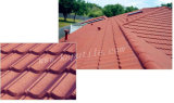 Interlocking Colorful Stone Coated Metal Roofing Tile 1350*420*0.4mm