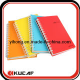 Spiral Plastic Cover Notebook for School