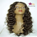 No Tangle No Shedding Indian Remy Human Hair Full Lace Wig