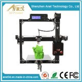 Anet Size Optional Desktop Digital 3D Printer for Household, Office, and School