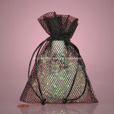 Fashion Cross Mesh Shower Bag
