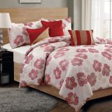Yarn Dyed Jacquard Woven Queen Size Polyester Comforter Set