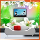 New Large Lily Flower Digital Printing Oil Painting Design for Living Room