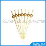 Disposable Natural Colorful Bamboo Skewer with Knot